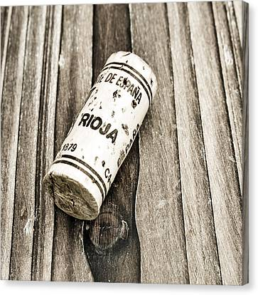 Rioja Wine Cork Canvas Print by Frank Tschakert