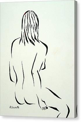 Ripose 1 Canvas Print by Pamela Allegretto