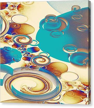 Ripples Canvas Print by Anastasiya Malakhova