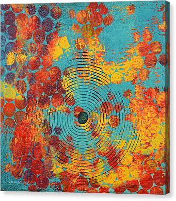 Ripples Canvas Print by Moon Stumpp