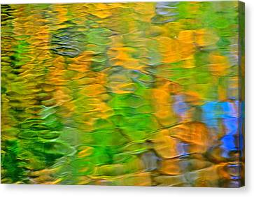 Rippley Reflection Canvas Print by Frozen in Time Fine Art Photography