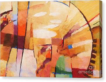 Rising Canvas Print by Lutz Baar