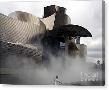 Rising Mist Canvas Print by Juan Romagosa