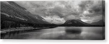 Rising Storm Clouds Canvas Print by Andrew Soundarajan