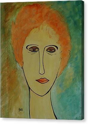 Rita  Canvas Print by Oscar Penalber