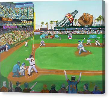 Rivalry Canvas Print by Ryan Williams