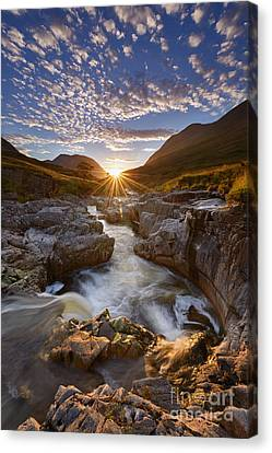River Etive Canvas Print by Rod McLean