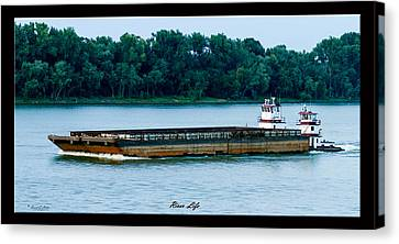 River Life Canvas Print by David Lester
