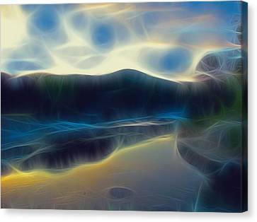 River Of Dreams And Wishes Canvas Print by Wendy J St Christopher
