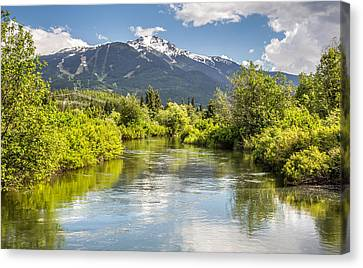 River Of Golden Dreams Canvas Print by Pierre Leclerc Photography