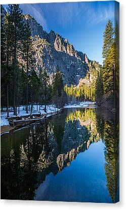 River Reflections Canvas Print by Mike Lee