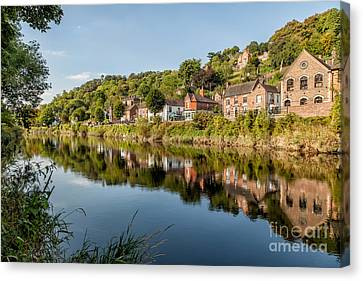 River Severn Ironbridge Canvas Print by Adrian Evans