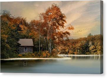 River View Canvas Print by Robin-lee Vieira