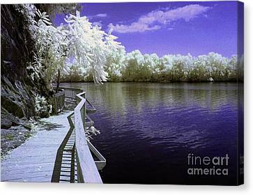 River Walk Canvas Print by Paul W Faust -  Impressions of Light