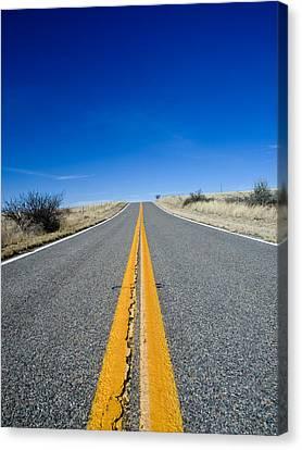 Road Through Sulphur Flats Canvas Print by Jim DeLillo
