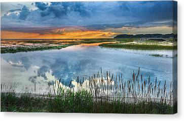 Road To Lieutenant Island Canvas Print by Bill Wakeley