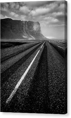 Road To Nowhere Canvas Print by Dave Bowman