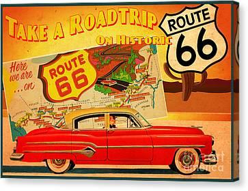Roadtrip Canvas Print by Cinema Photography