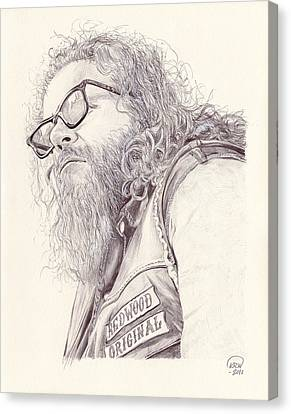 Robert Bobby Munson Canvas Print by Kyle Willis