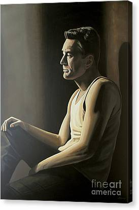 Robert De Niro Canvas Print by Paul Meijering