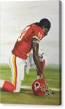 Robert Griffin 3 Canvas Print by Harry Speese