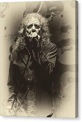 Robert Plant Canvas Print by Michael  Wolf