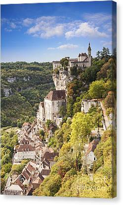 Rocamadour Midi-pyrenees France Canvas Print by Colin and Linda McKie
