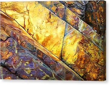 Rock Art 23 Canvas Print by Bill Caldwell -        ABeautifulSky Photography