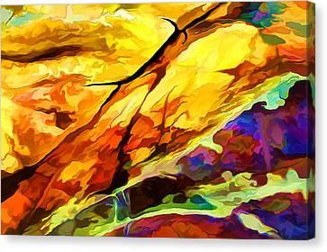 Rock Art 24 Canvas Print by Bill Caldwell -        ABeautifulSky Photography