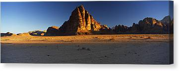 Rock Formations On A Landscape, Seven Canvas Print by Panoramic Images