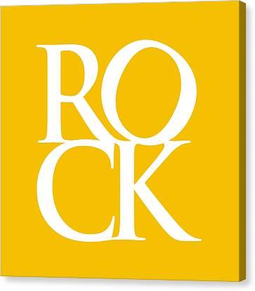 Rock Canvas Print by Michael Tompsett