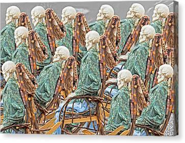 Rock The Bones Canvas Print by Betsy Knapp