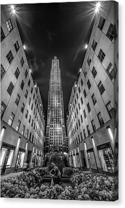 Rockefeller Center - New York 1 Canvas Print by Larry Marshall