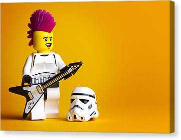 Rockin' Out Canvas Print by Samuel Whitton