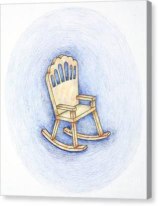 Rocking Chair Canvas Print by Joy Calonico