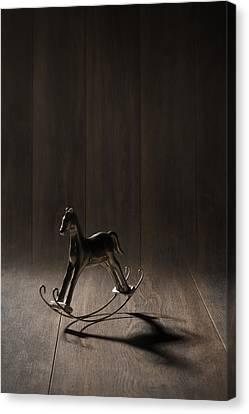 Rocking Horse Canvas Print by Amanda Elwell