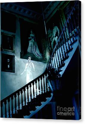 Rockwood Stairwell  Canvas Print by Tom Straub