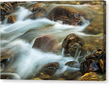 Rocky Flow Canvas Print by Joan Herwig