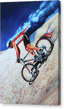 Rocky Mountain High Canvas Print by Hanne Lore Koehler