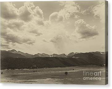 Rocky Mountains Front Range Canvas Print by Kay Pickens