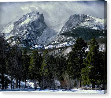 Rocky Mountains Canvas Print by Jim Hill