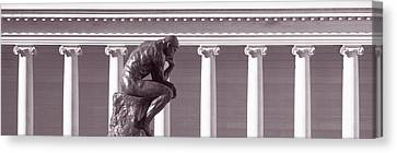 Rodin Sculpture, San Francisco Canvas Print by Panoramic Images