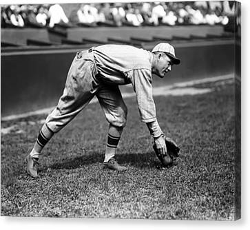 Rogers Hornsby Fielding Practice Canvas Print by Retro Images Archive