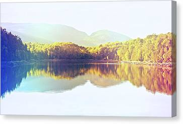Rollin On The River Canvas Print by Kenny Noddin