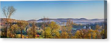 Rolling Hills Canvas Print by Bill Wakeley