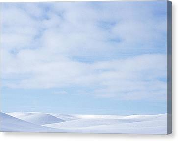 Rolling Hills Winter Canvas Print by Latah Trail Foundation