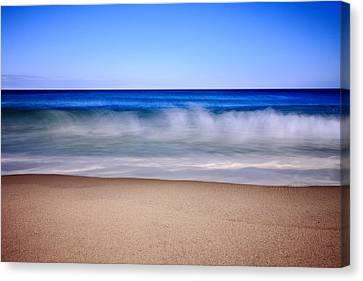 Rolling Ocean Waves Canvas Print by Dapixara Art