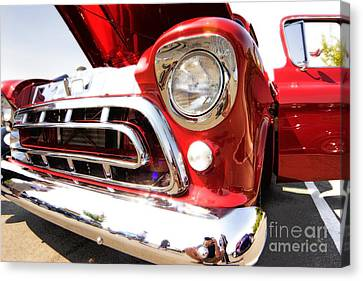 Rolling Thunder Canvas Print by Andrew Brooks