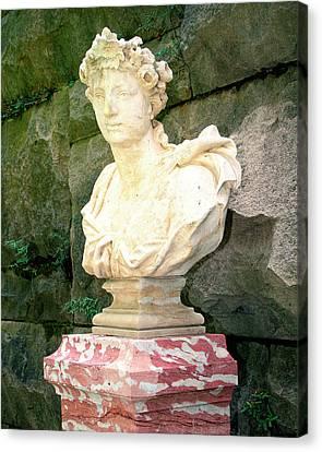 Roman Biltmore Asheville Nc Canvas Print by William Dey
