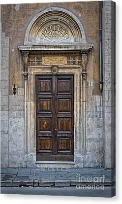 Roman Doors Canvas Print by Antony McAulay
